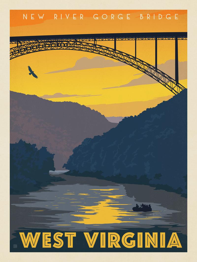 West Virginia: New River Gorge