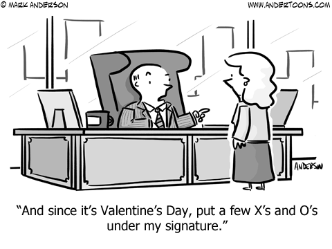 Valentine Cartoons #7458