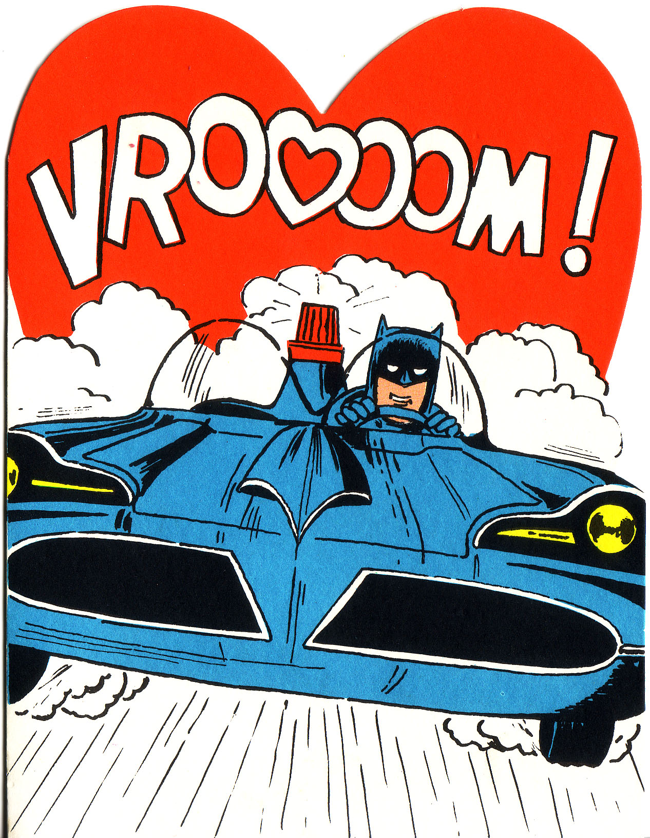 Superhero Valentines - Batman 1966 1