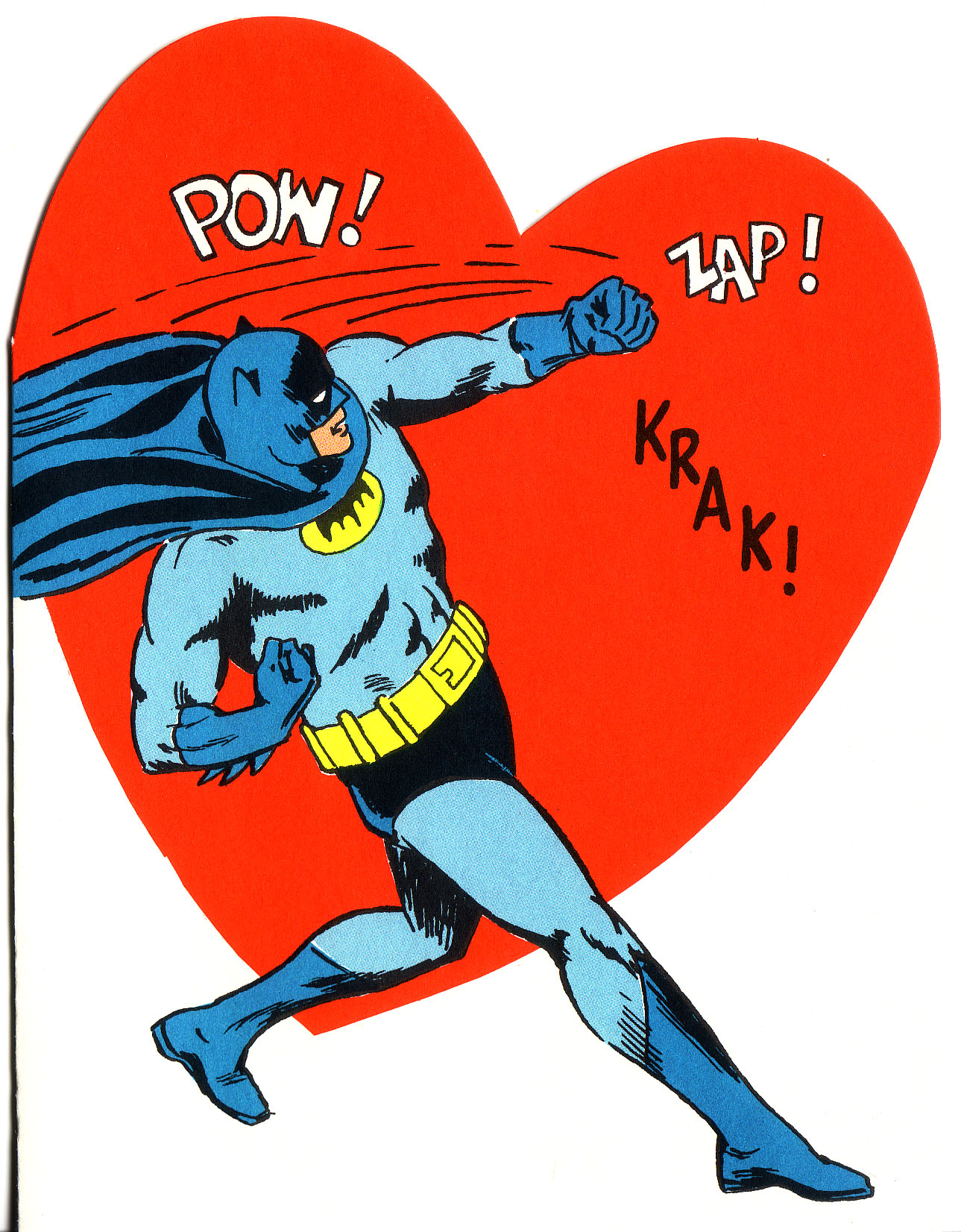 Superhero Valentines - 1966 Batman 3