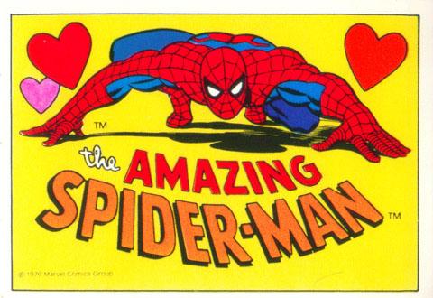Superhero Valentines - 1979 Spider-Man