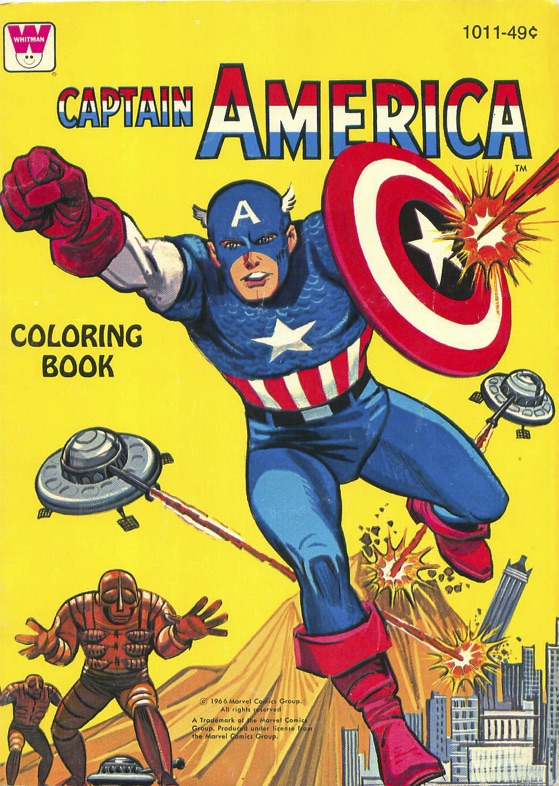 1966-Captain-America-Coloring-Book