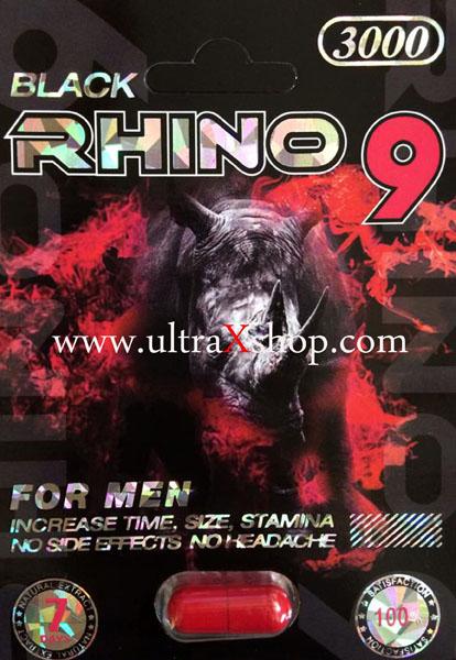 Black Rhino 9 Male Enhancement Pills Review