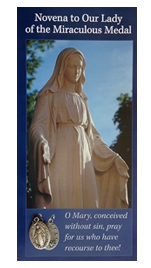 Order your Free Miraculous Medal Novena and Medal