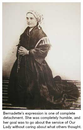 Bernadette Kneeling