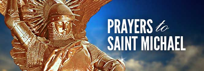 St. Michael Prayer header image