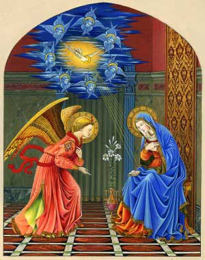 Rosary Guide Booklet - Annunciation Pic