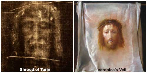 Shroud of Turin - Veronica's Veil