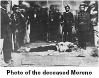 Photo of the deceased Moreno