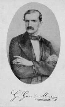 Young Gabriel Garcia Moreno