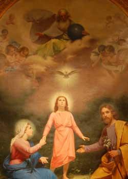 Holy Trinity & Holy Family