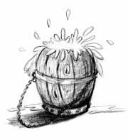 Overflowing Barrel