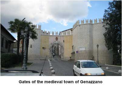 Gates of Genazzano