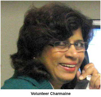 Volunteer Charmaine