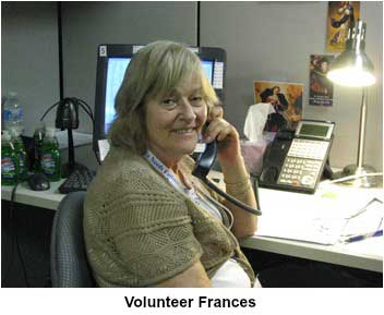Volunteer Francis