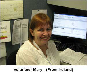 Volunteer Mary