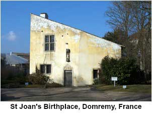 St Joan's Birthplace, Domremy France