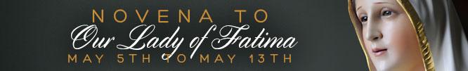 Novena to Our Lady of Fatima