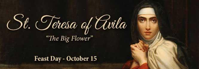 St Teresa of Avila Header