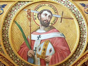 Image result for image feast of st thomas becket