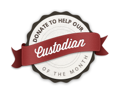 Donate to help our custodian of the month