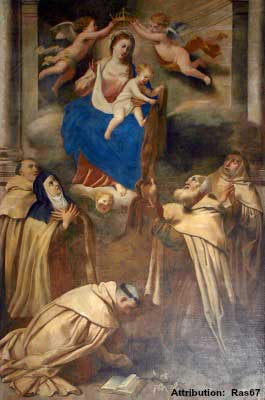 St Simon Stock and the Scapular