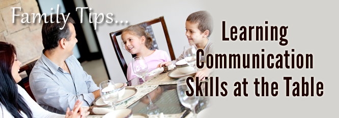 Header - Family Tip 3 - Learning Communication Skills