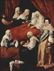 Paining of the Nativity of Mary