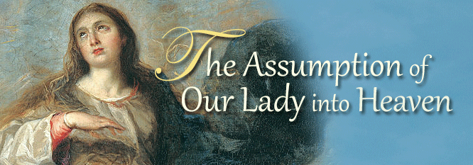 Header-The Assumption of Our Lady into Heaven