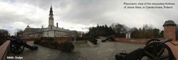 Jasna Gora Fortress today