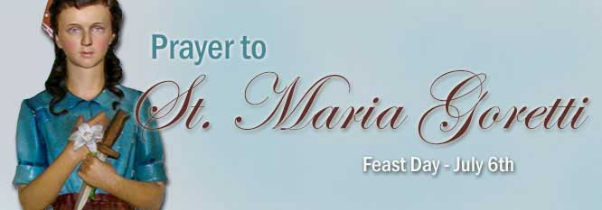 Prayer to St. Maria Goretti