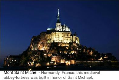 Mont Saint Michel - Normandy France