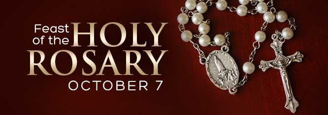 Feast of the Holy Rosary Header
