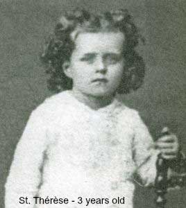 St Therese 3 years old - Image 1