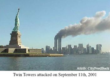 Twin Towers - Sept 11, 2001