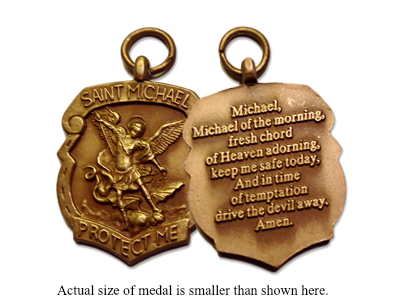America needs fatima free saint michael shield medal aloadofball Images