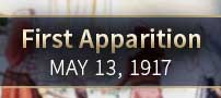 First apparition-May 13, 1917