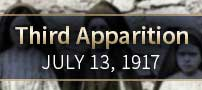Third apparition-July 13, 1917