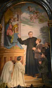 St John Bosco painting