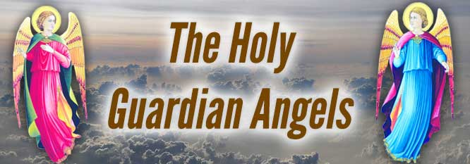 The Holy Guardian Angels Header