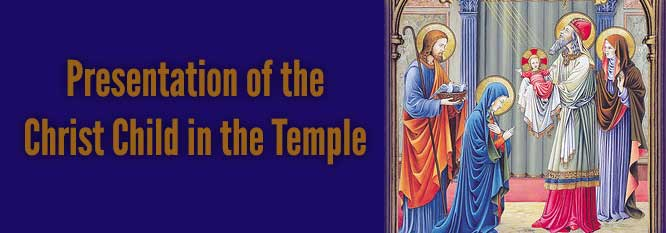 Header-Presentation of the Christ Child in the Temple
