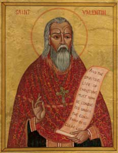 Icon of St. Valentine