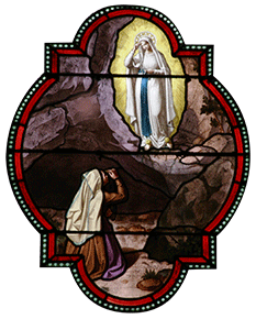 Our Lady of Lourdes appears to Bernadette - Novena image 1