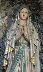Our Lady of Lourdes Statue - Novena image 3