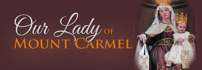 Header-Our Lady of Mount Carmel