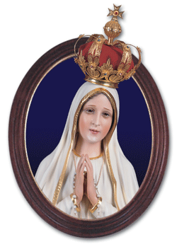 Framed Our Lady of Fatima