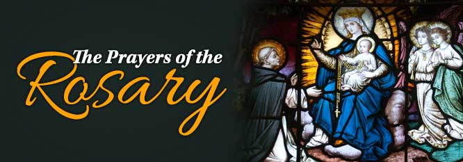 Header - The prayers of the Rosary