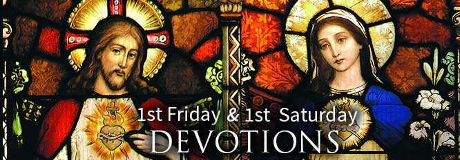Header 1st Friday and 1st Saturday Devotions