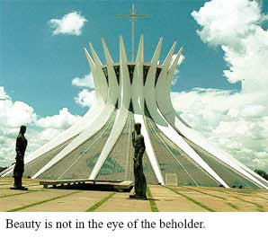 Beauty is not in the eye of the beholder
