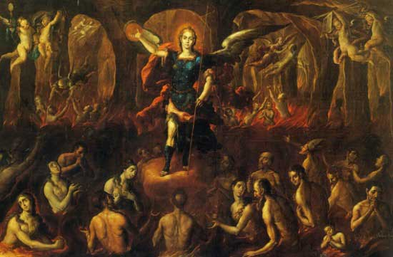 St Michael in purgatory